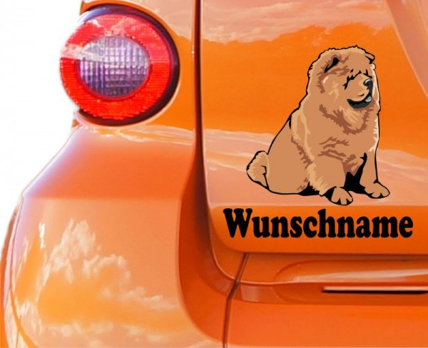 Chow - Chow mit Wunschname